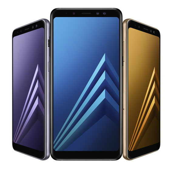Samsung Galaxy A8 ve A8+