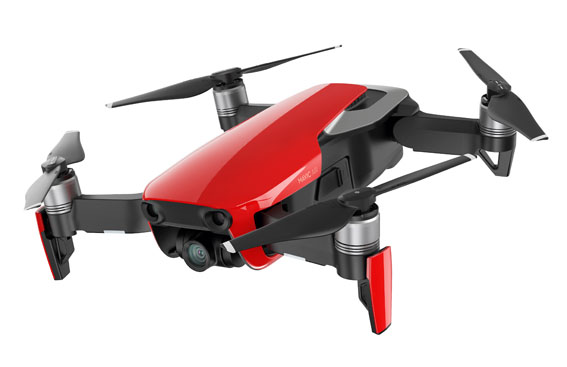 Mavic Air Flame Red side 2 - DJI Mavic Air geliyor!