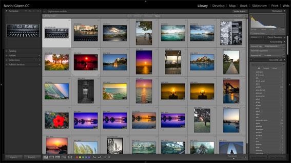 ng003 - Lightroom ile Fotoğrafları Arşivlemek