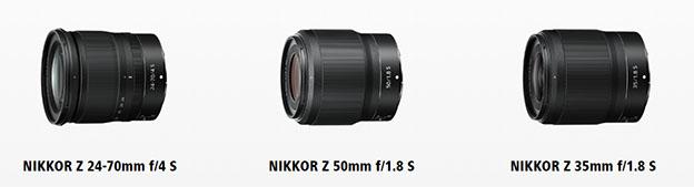 zlensler - Nikon'dan Z sistem için yeni objektifler