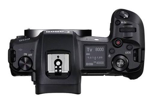 02 EOS R TOP Body 246226434085066 - Canon EOS R
