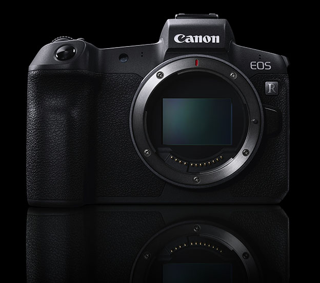 EOS R System front black - Canon EOS R
