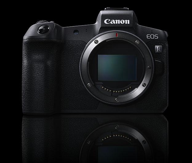 003 EOS R System front black - Canon Photokina 2018'de neler gösterdi?