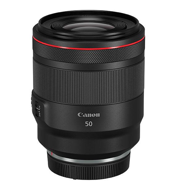 005 RF 50mm f1.2 L USM Slant with cap at MOD - Canon Photokina 2018'de neler gösterdi?