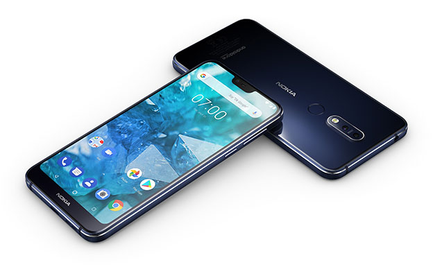 1539156541 HMD Global Nokia 7 1 Midnight Blue Front - Nokia 7.1 Satışa Sunuluyor