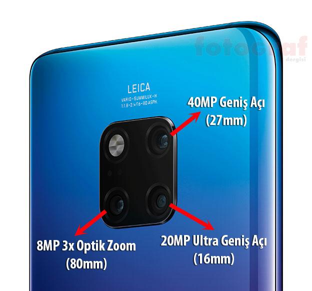 1539702119 Mate 20 Pro Blue Black Rear - Huawei Mate 20 Serisi tanıtıldı