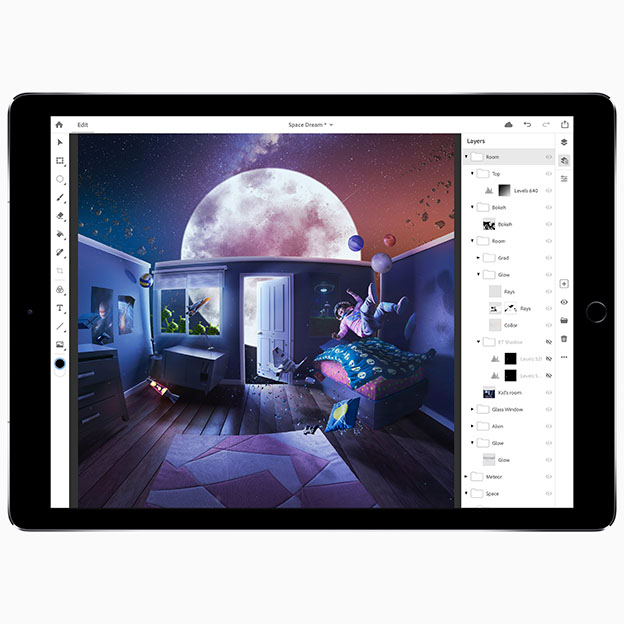 Adobe Max iPad Pro PS CC 10152018 - Photoshop CC iPad için geliyor!