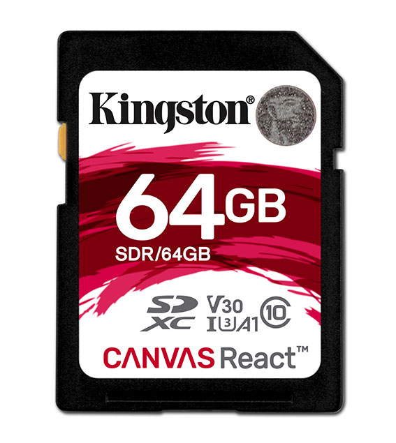 SD Canvas React 64GB SDR 64GB s hr 22 02 2018 14 52 - İnceleme: Kingston Canvas React 64GB