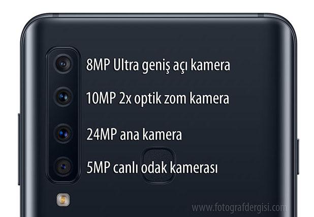 a9 cam - Dört Arka Kameralı Samsung Galaxy A9