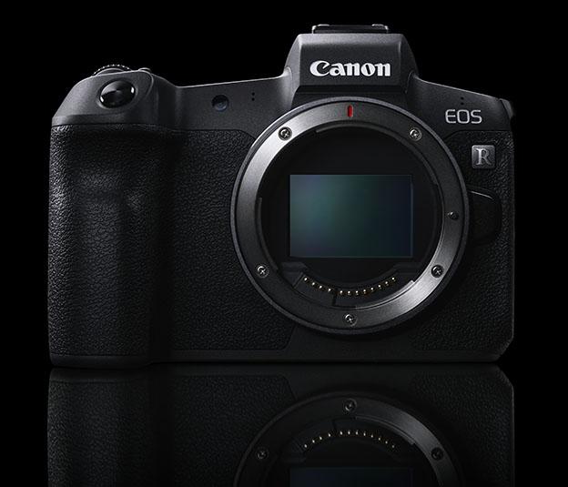 EOS R System front black - Canon EOS R ve Uzaktan Kontrol