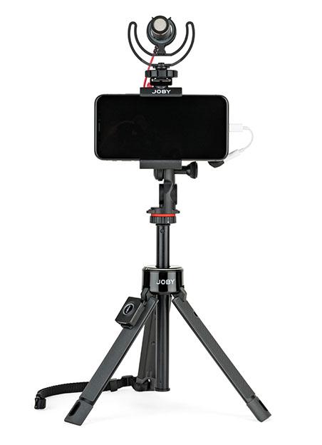 GT Pro TelePod Mic iPhoneX RGB - Joby TelePod Serisi