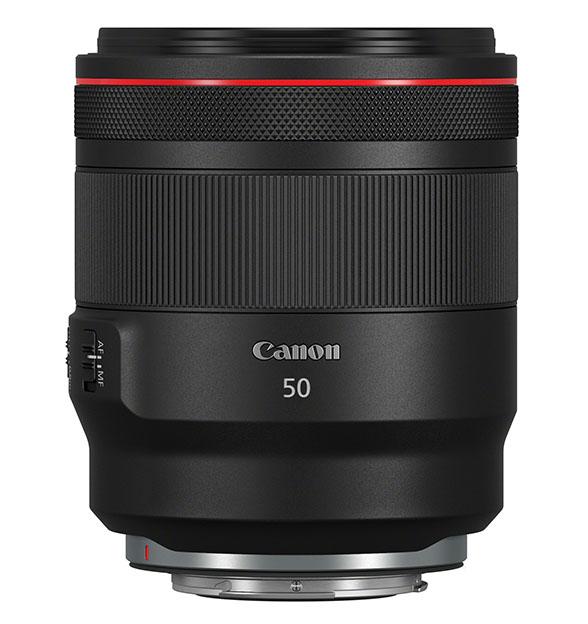 RF 50mm f1.2 L USM Side - Canon EOS R ve Uzaktan Kontrol
