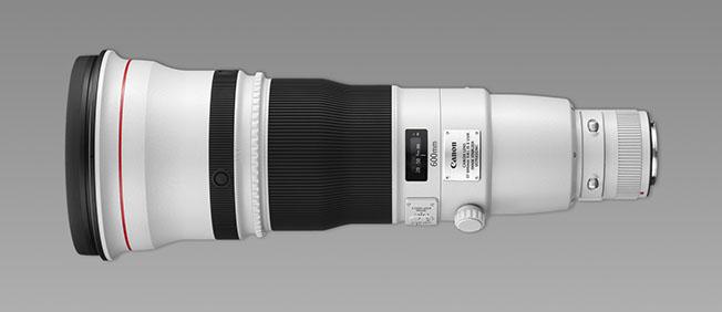 1547036942 EF 600mm f4 L IS II USM SIDE - Canon'un iki yeni objektifi hakkında az bilinenler