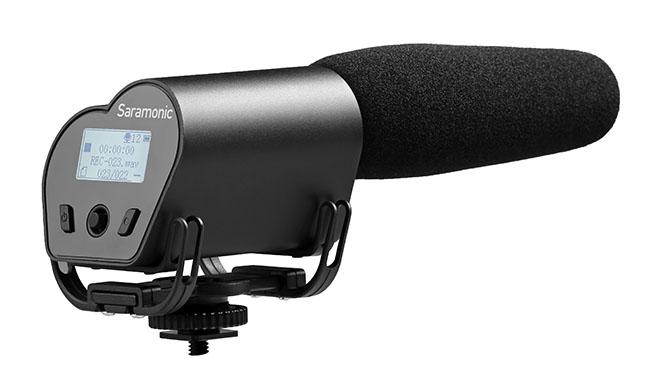 003 Vmic Recorder 1 - Saramonic Vmic Recorder Shotgun Mikrofon