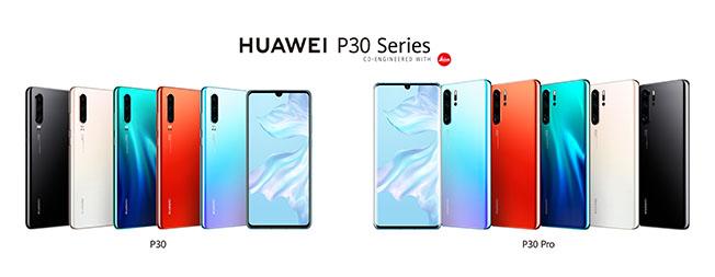 HUAWEI P30 Series Family - Huawei P30 Serisi Paris'te Tanıtıldı