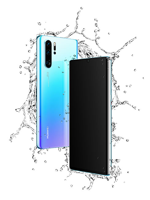 P30 Pro_The IP68 rated water
