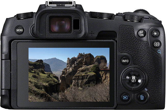 EOS RP Back Body - Canon EOS RP'yi Yunanistan'da test ettik