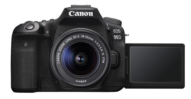 1568191136 28 EOS 90D BK TheFront 18 55ISSTM - Canon'dan EOS Serisine İki Yeni Model
