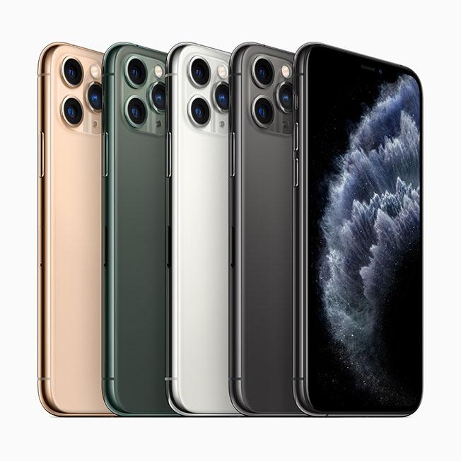 Apple iPhone 11 Pro Colors 091019 - Apple iPhone 11 Pro ve iPhone 11 Pro Max