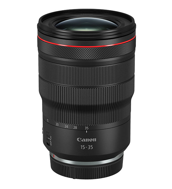 1568891567 Canon RF 15 35MM F2.8L IS USM Slant with cap - EOS R Sistemine 2 yeni objektif
