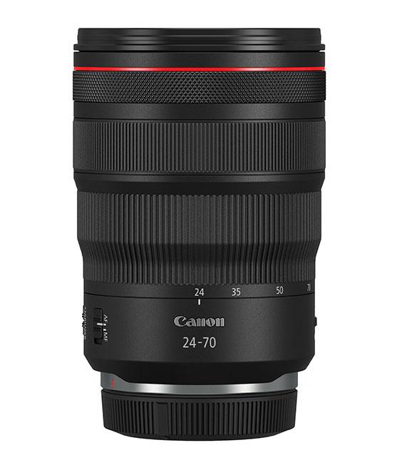 1568891578 Canon RF 24 70MM F2.8L IS USM Side with cap - EOS R Sistemine 2 yeni objektif