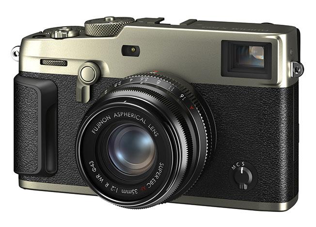 Fujifilm kihon NANAME titaniumSilver - Fujifilm X-Pro3