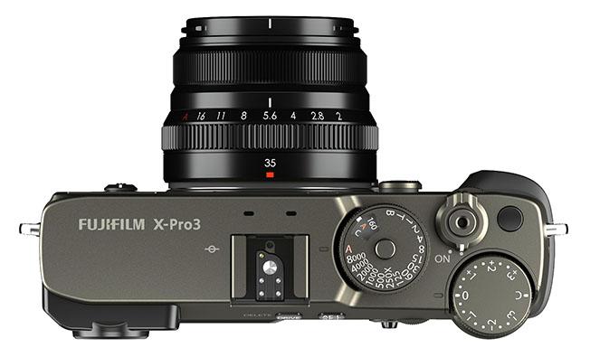 Fujifilm kihon topLens titaniumBlack - Fujifilm X-Pro3
