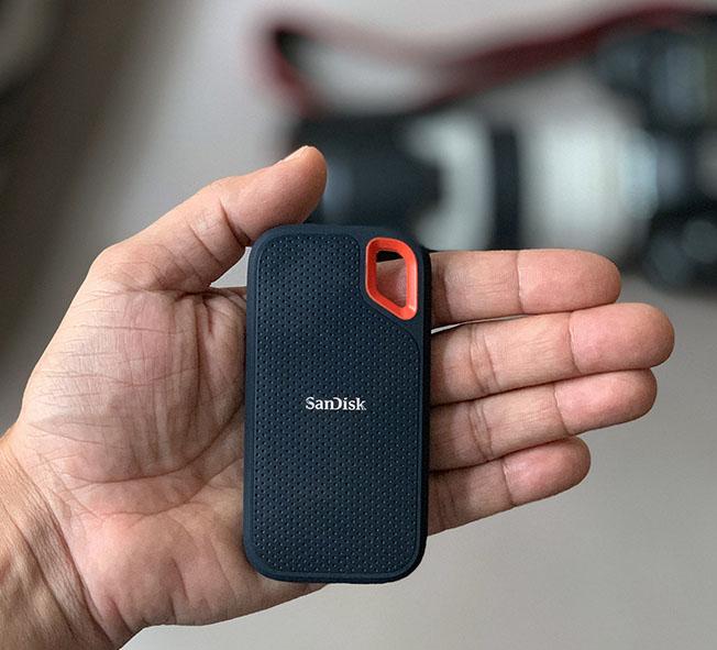 IMG 4616 - İnceleme: SanDisk Extreme Portable SSD