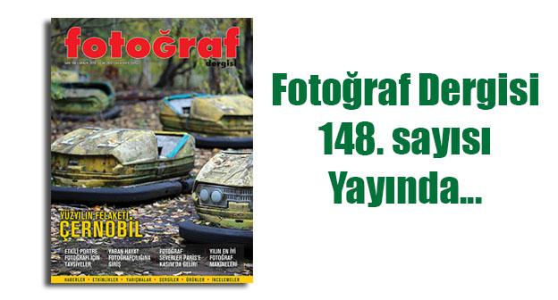 148web - Fotoğraf Dergisi'nin 148. sayısı yayında…
