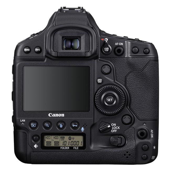 EOS 1D X Mark III BK BCK - Canon EOS-1D X Mark III Tanıtıldı