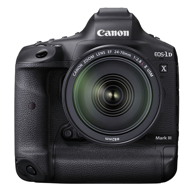 EOS 1D X Mark III BK FRT - Canon EOS-1D X Mark III Tanıtıldı