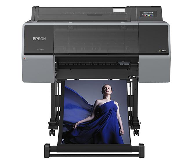 Epson SC P7500 - Epson'dan 12 Renkli Geniş Format Fotoğraf Yazıcıları