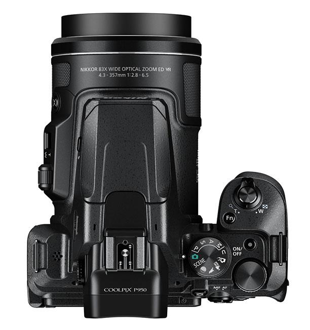 P950 top wide - Nikon Coolpix P950