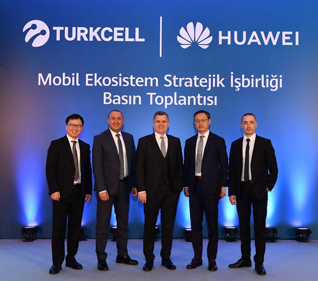 THtoplanti - Turkcell ve Huawei, Huawei Mobil Servis İş Birliğini Duyurdu