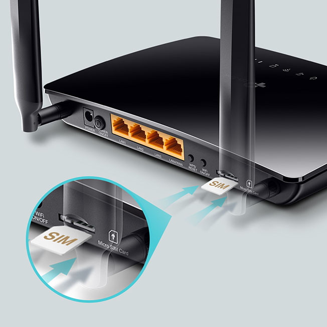 TL MR150 EU 1.0 04 - TP-Link'ten 4G Destekli Yönlendirici