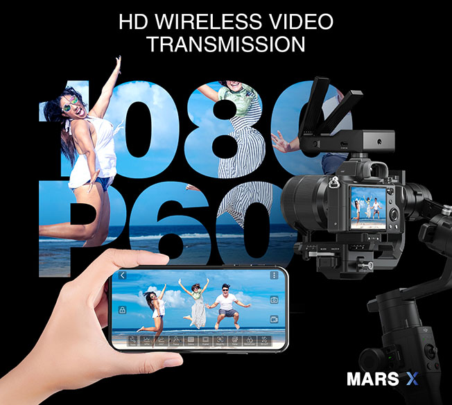 marsx - Hollyland Yeni Kablosuz Görüntü Aktarıcı MARS X