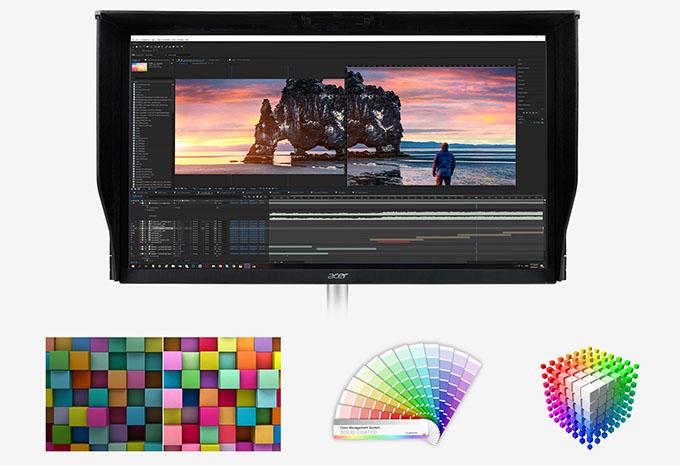 001 renk - İnceleme: Acer ConceptD CP3 Monitör
