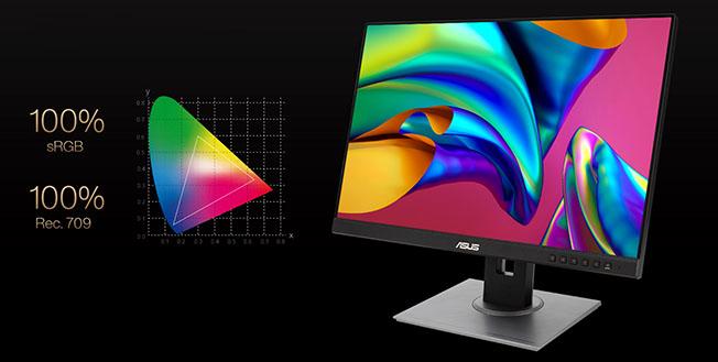 001 srgb - ASUS ProArt Display PA248QV ve PA278QV