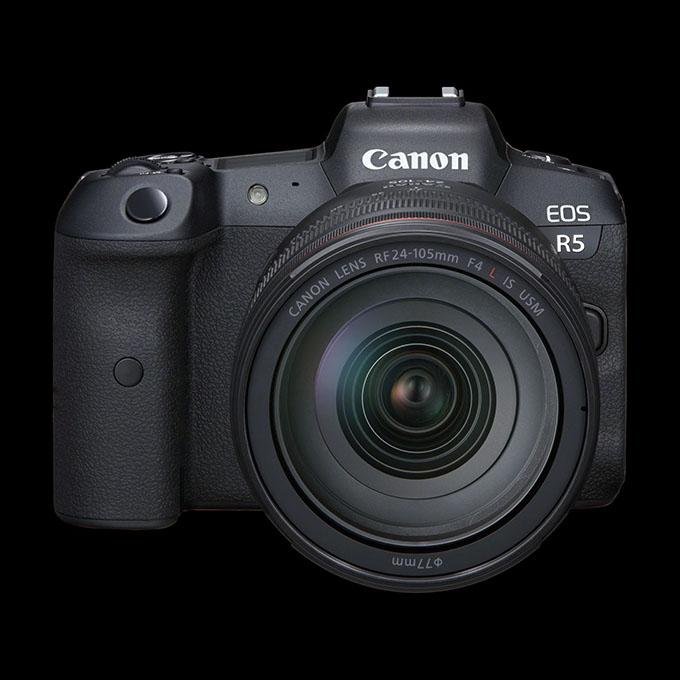 1594301197 EOS R5 Front RF24 105mmF4LISUSM SQUARE  1  - Canon EOS R5 ve EOS R6 tanıtıldı