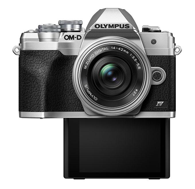 om d e m10 mark iv silver ez m1442 selfie  product 000 - Olympus OM-D E-M10 Mark IV