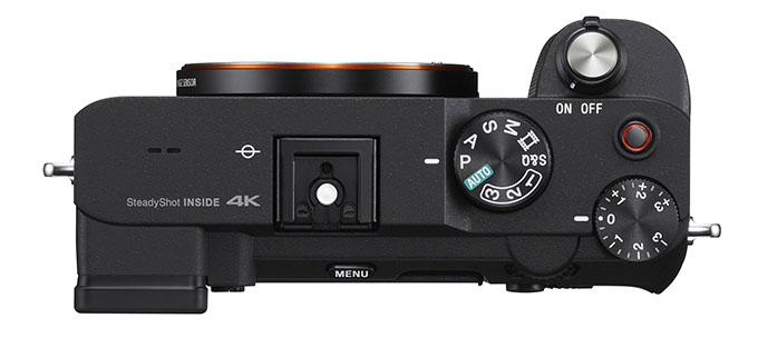 1600240523 A7C top black SCSE - Sony Alpha 7C