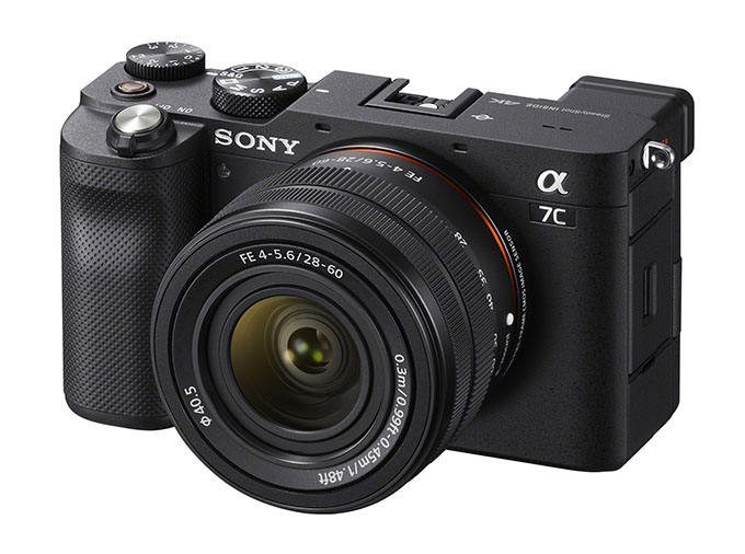 1600240524 A7C 2860 right black 01 SCSE - Sony Alpha 7C