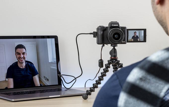 Canon EOSM50kit 170920 - EOS Webcam Utility ile Web Kameranız Hazır
