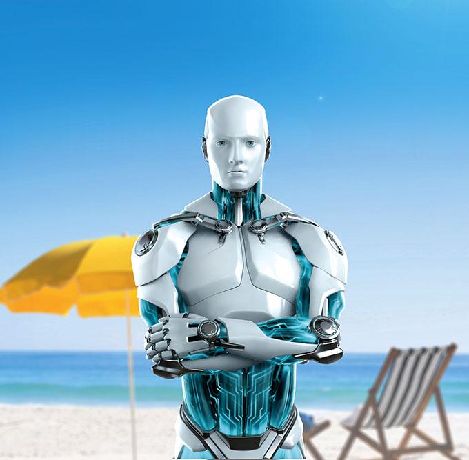 ESET Robot - Fotoğraflarınız güvende mi?