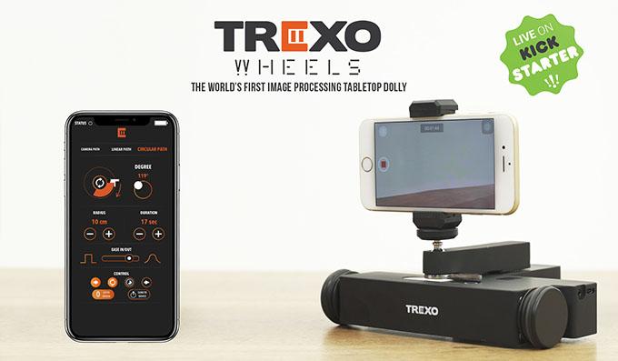 liveon - Trexo İnovasyon'dan masaüstü dolly: Trexo Wheels