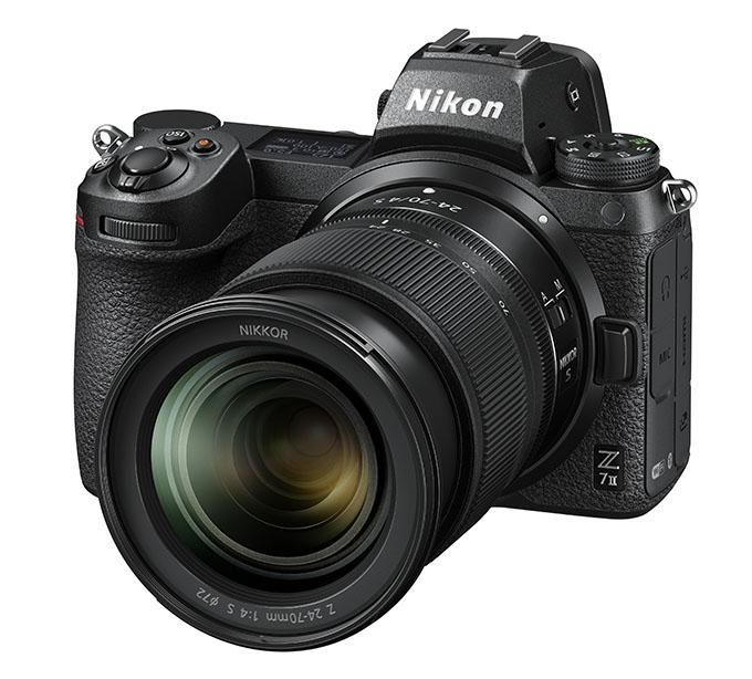 Z7II 24 70 4 front34l - Nikon Z 7II ve Z 6II Geliyor!