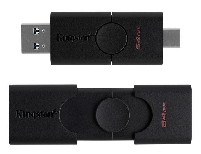 duot - Çift Arayüzlü USB Bellek: DataTraveler Duo