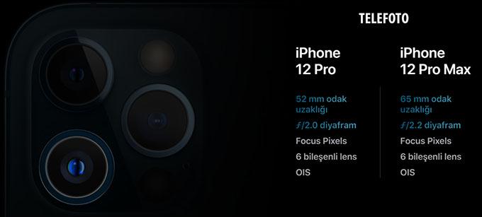 i12 tf - Apple iPhone 12 Pro ve iPhone 12 Pro Max