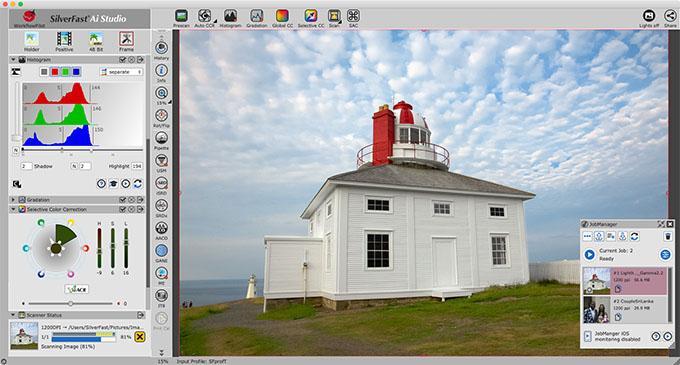 SF9 Screenshot UI EN - Tarayıcı Yazılımı SilverFast 9 ile Yenilendi
