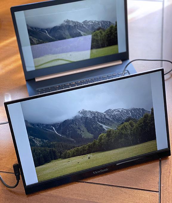 IMG 8455 k - İnceleme: ViewSonic VG1655 Taşınabilir Monitör